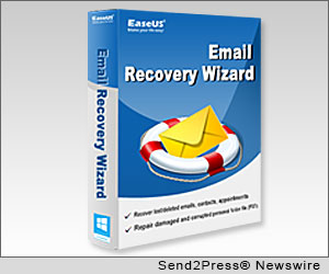 NEW YORK CITY, N.Y. (SEND2PRESS NEWSWIRE) -- As an innovative software developer for providing cost effective solutions for storage management and data protection, EaseUS Software introduces an email recovery solution - EaseUS Email Recovery Wizard 2.1 to all computer users.