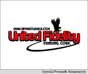 KANSAS CITY, Mo. (SEND2PRESS NEWSWIRE) -- United Fidelity Funding Corp. (UFF), a national wholesale and retail mortgage banker, announced that it earned a spot on Mortgage Technology magazine's 2012 Top 25 Tech-Savvy Lenders and Servicers list for the third time.