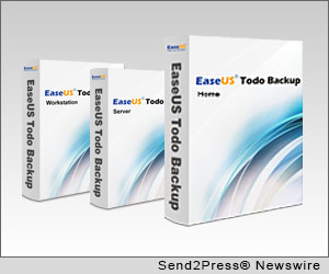 NEW YORK CITY, N.Y. (SEND2PRESS NEWSWIRE) -- EaseUS Software as an innovative software developer for providing cost effective solutions for storage management and data protection, today released version 5.5 of its family of EaseUS Todo Backup products. The latest version now supports six languages, including English, German, Spanish, French, Italian and Japanese.