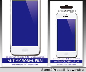 Michael Doyle, Accurate Imaging Resources, polyester film products, Accurate Films screen protectors, antimicrobial, anti-fingerprint and anti-glare screen protector, ipad, cell phones, tablets, laptops, monitors, PCs, Samsung Galaxy 3S phones