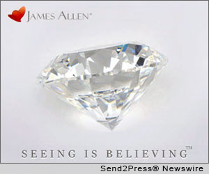 James Allen, Diamond Display Technology, The James Allen Collection, David Berkovits, Fancy Color Diamonds, Natural Gemstones, Diamond Engagement Rings, Pink Diamonds, Blue Diamonds, Sapphires, Emeralds, risk free retail policy, luxe fashion
