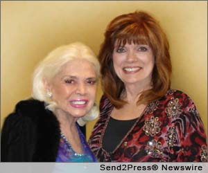 Sandra Giles and Sandra Piller at The Hollywood Show
