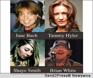 Jane Bach and other hit songwriters perform a writers round at Douglas Corner Cafe on August 9.