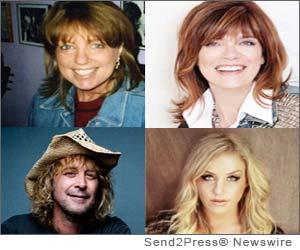 Jane Bach, Sandra Piller, Jim Huff, Kaela Gardner