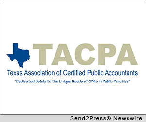 PLANO, Texas (SEND2PRESS NEWSWIRE -- The Texas Association of CPAs (TACPA), supports effort to reduce burdensome regulations in Texas. State Representative Phil Stephenson, CPA, recently filed two bills affecting CPAs and small businesses in Texas. The first bill, H.B. 1756, exempts from the state's mandatory peer review program, CPAs who only prepare financial statements for small businesses.